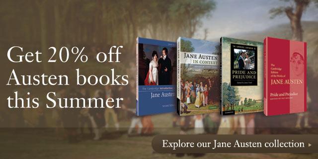 Get 20% off Austen books this Summer