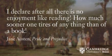 Jane Austen quote from pride and prejudice