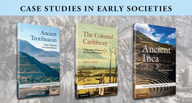 Case Studies in Early Societies series