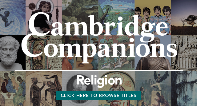 Cambridge Companions to Religion