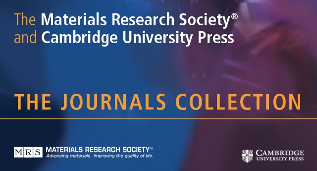 MRS Journal Article Collection