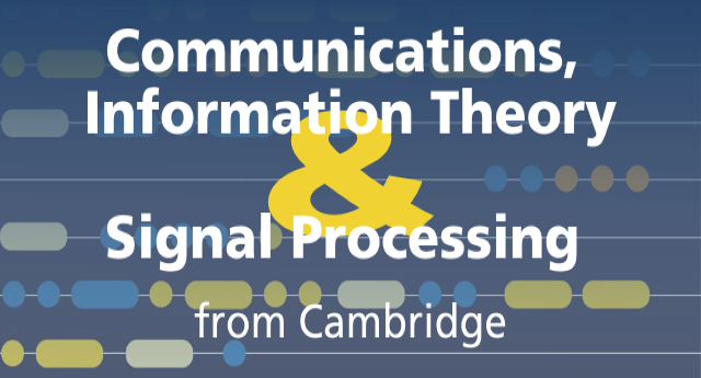 Communications, information theory and signal processing